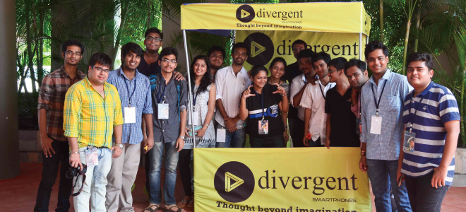 divergent sponsorship and participation with KIIT University